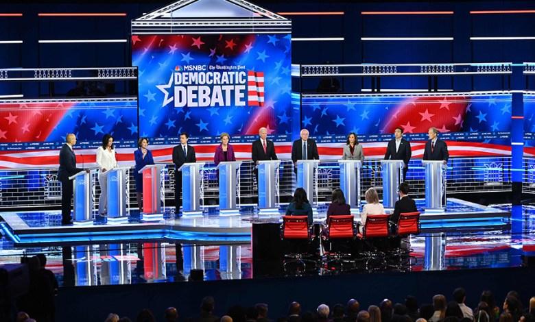 Photo of المرشحون الديمقراطيون يتفقون في التحقيق مع ترامب ويختلفون في السياسات