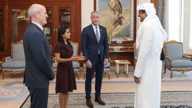 Photo of وفد من الكونغرس يلتقي امير قطر