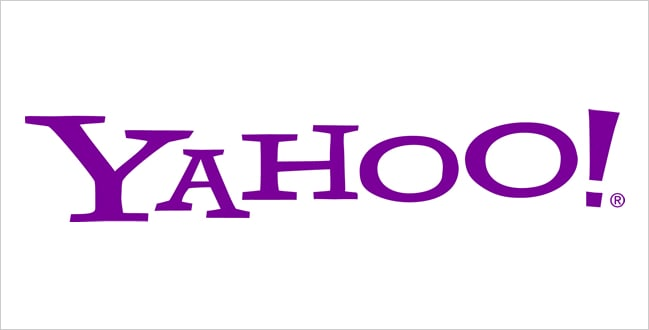 Color User Experience (UX) And Psychology - Purple Yahoo Logo
