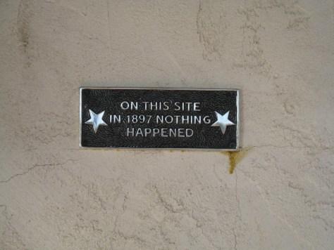 Historische Schilder in Wickenburg