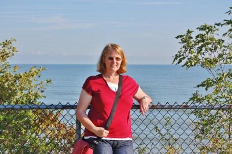 Kleiner Zwischenstopp am Erie-See