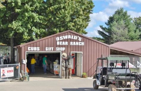 Eingang zur Oswald's Bear Range