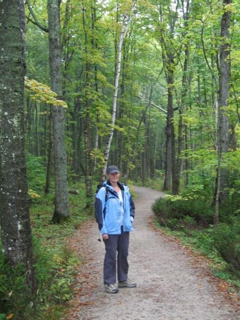 Auf dem Lakeshore Trail