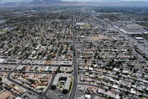 Sin City sieht von oben aus wie Sim City