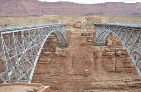 Navajo Bridge am Marble Canyon