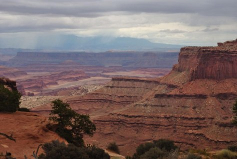 Canyonslands Nationalpark - mal sehen wie lange es noch trocken bleib
