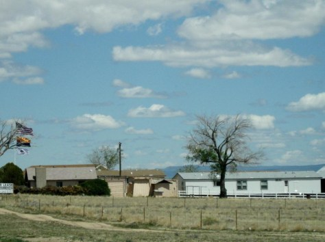 Farm auf dem Weg zum Grand Canyon