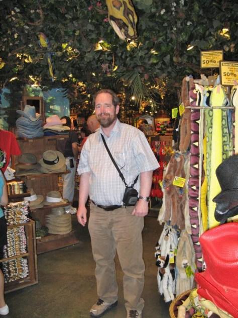 Ein Tourist im Touristenmekka