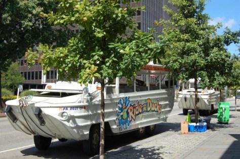 Parkplatz für Ausflugsboote :-)
