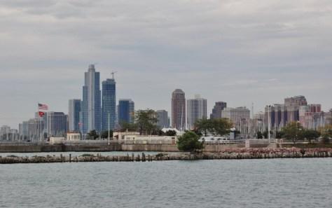 Die berühmte Skyline von Chicago