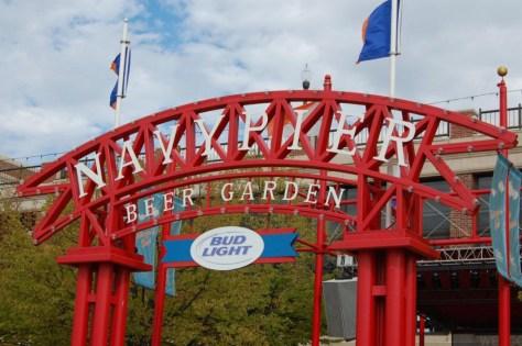 Beer Garden am Navy Pier