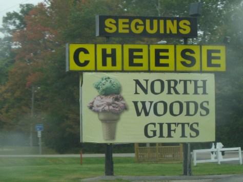 Käse und Holz ist eine interessante Souvenir-Mischung :-)