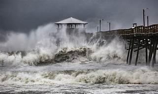 Hurricane's an der Ostküste
