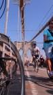ENFIN NOTRE POINT D'ARRIVEE LE BROOKLYN BRIDGE