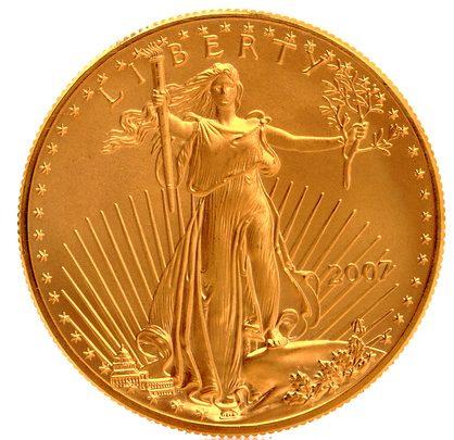 Error Coin: 1999-W $5 American Gold Eagle Coin - USA Coins