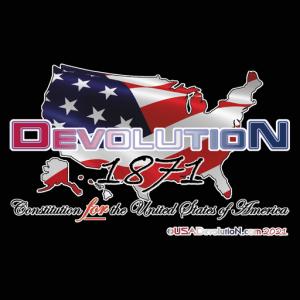USA Map-Flag