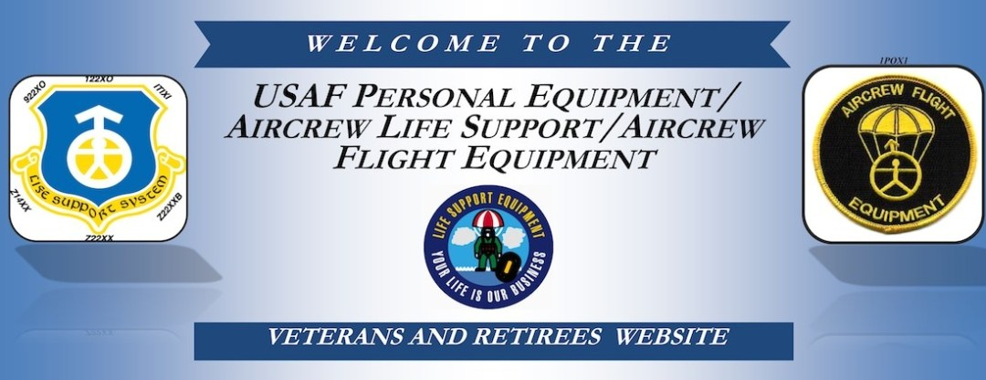 USAF aircrew life support aircrew flight equipment