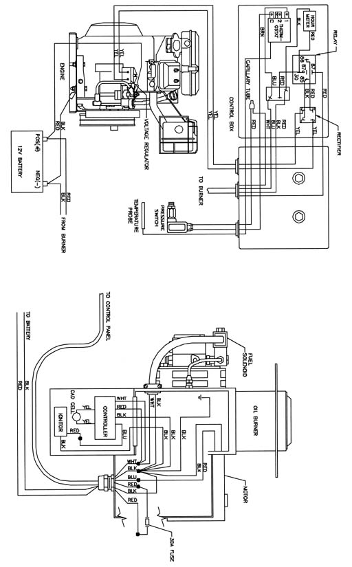 beckett oil burner wiring schematic  tractor trailer plug