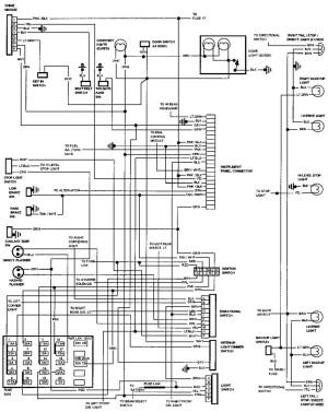 Электросхемы Chevrolet Caprice (19901994)