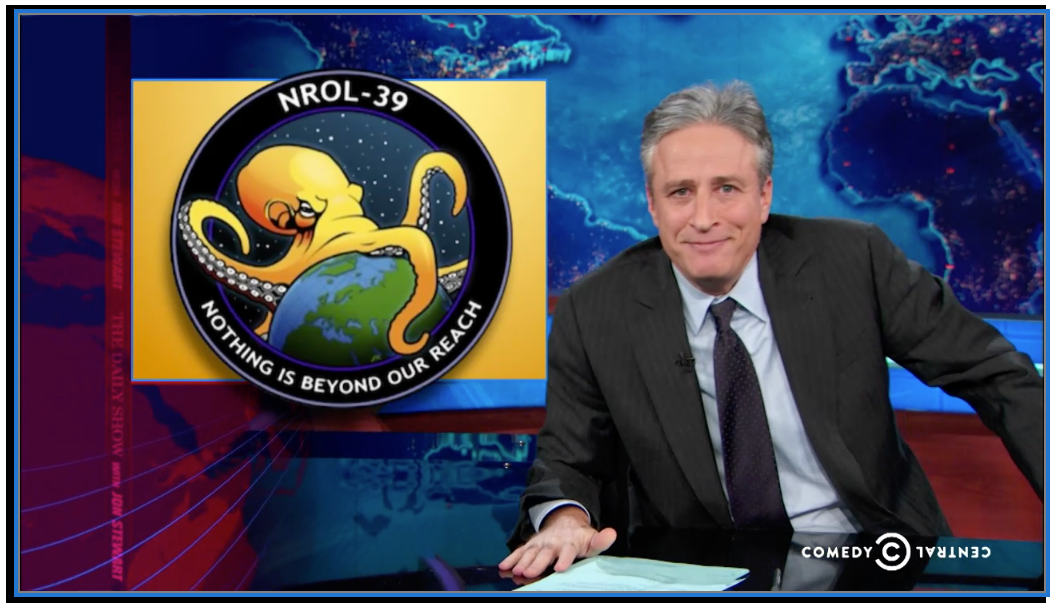 The Daily Show NROL-39 Screen Shot