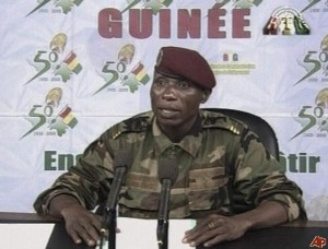 """Guinea's dictator Camara apologizes: claims """"atrocities"""" by """"uncontrollable elements in the military...."""""""