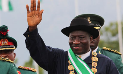 Jonathan sworn in as Nigeria's president for full 4-year term