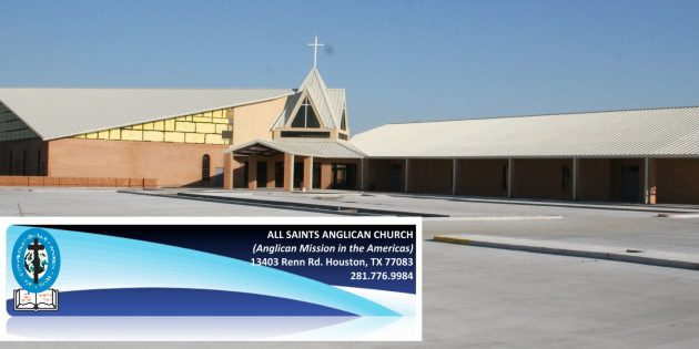 Advertisement: Facts of the Crisis at All Saints Anglican Church, Houston