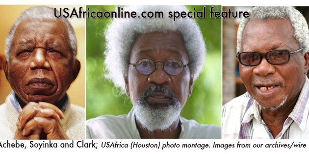 Achebe, Soyinka, Clark warn Nigeria: Let not this fire spread