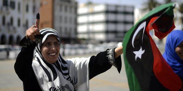 Libya's first free national elections after Ghaddafi bring joy, few violence