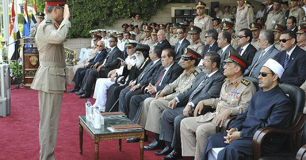 After Egypt's President forced retirement of top army leaders, opposition claims it's unconstitutional, calls Aug 24 protests