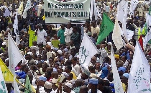 Thousands protest anti-Islam film in Nigeria's northern city of Kano; led by pro-Iran group