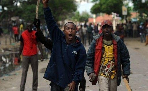 Riots in Kenya against Somalis, after bus terror grenade blast