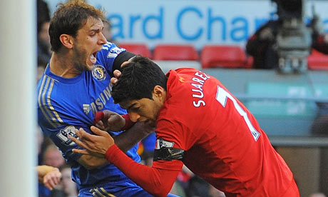 Liverpool's biting racist Luis Suarez deserves 10-game ban; good riddance to bad rubbish! By Chido Nwangwu