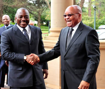 Insight to foiled COUP against KABILA of DR Congo, South Africa and international law