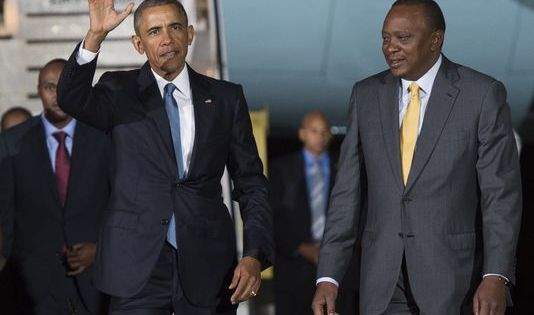 "USAfrica: Obama live in Kenya says ""Africa is on the move"""