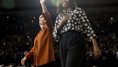 "Michelle Obama dazzles crowd at Clinton rally: ""If Hillary doesn't win that's on us"""