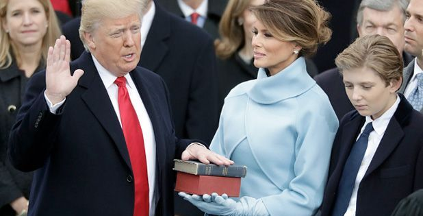 "USAfrica: ""From this day forward it's going to be only America First,"" Trump sworn in as 45th President"