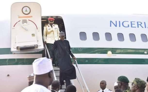 Nigeria's Buhari returns from London, settling into presidential villa