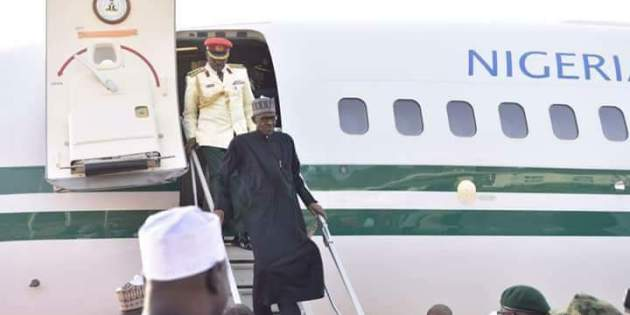 Nigeria's Buhari returns from London, settling into presidential villa