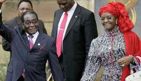 "Zimbabwe's First Lady Grace Mugabe exposes South Africa's ""Animal Farm"""