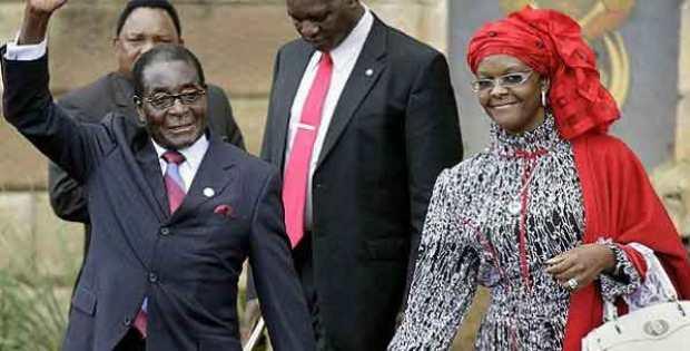 """Zimbabwe's First Lady Grace Mugabe exposes South Africa's """"Animal Farm"""""""