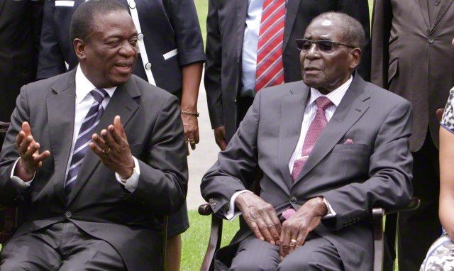 BrkNEWS: Sacked VP of Zimbabwe, Emmerson Mnangagwa, to be sworn in as President this Friday
