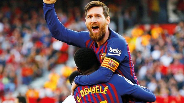 Soccer: Lionel Messi's Barcelona beat Real Madrid