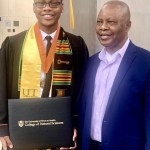 USAfrica: Obinna Okorie graduates with honors in Human Development and Family Sciences
