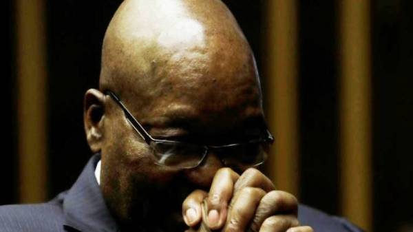 South Africa's ex-President turns himself in for a 15-month prison term
