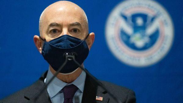 U.S Homeland Security leader Alejandro Mayorkas tests positive for COVID-19