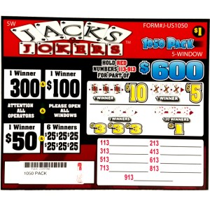 1050PACK Jacks n Jokers
