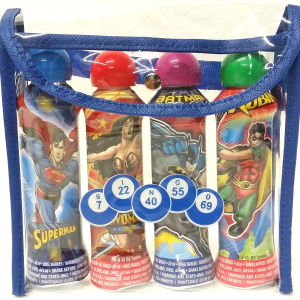 Super Hero Bingo Dauber 4 Packs