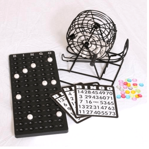 Bingo Cage Set For Home Use