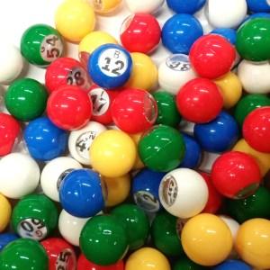 Small Bingo Balls 1